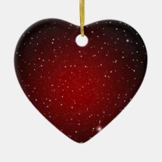 Elegant Rood met Sterren > het Ornament van het