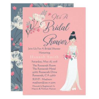 Elegant Roze & Uitnodiging van het