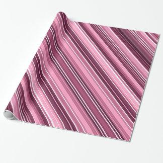 Elegant Roze Verpakkend Document - Roze & Paarse Cadeaupapier