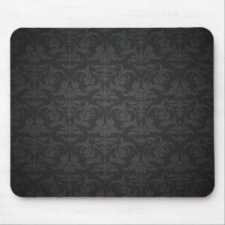 Elegant Zwart Damast Muismat