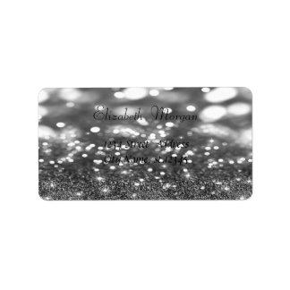 Elegante Betoverende Glittery, Bokeh Etiket