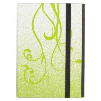 Elegante Bloemen & Wijnstokken iPad Air Hoesje