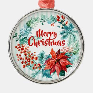 Elegante BloemenKroon | van Kerstmis Ornament