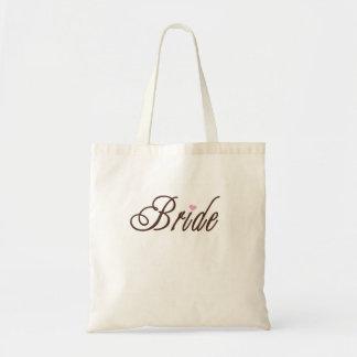 Elegante Browns van de bruid Budget Draagtas