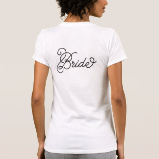 Elegante Bruid T Shirt