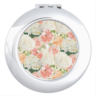 Elegante de gunstspiegel van het rozen make-up spiegeltjes