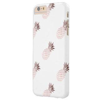 elegante duidelijke faux nam gouden tropische barely there iPhone 6 plus hoesje