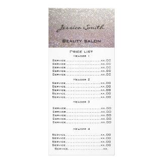 Elegante elegante moderne het menukaart van luxe reclamekaart
