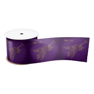 Elegante filigraanengel satijnen lint