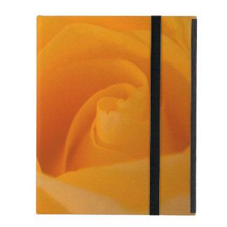 Elegante Geel nam Knop toe iPad Hoesje