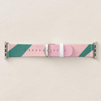 Elegante geometrische groene pastelkleur roze
