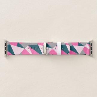 Elegante geometrische pastelkleur hete roze