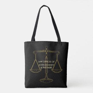 Elegante Gouden Schalen van Rechtvaardigheid | Draagtas