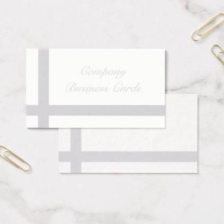Elegante Grijze Visitekaartjes