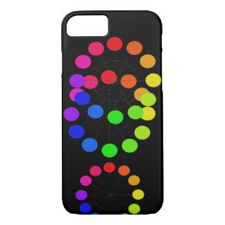 Elegante het Pop-art van het Spectrum van iPhone 8/7 Hoesje