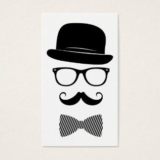 Elegante hipster visitekaartjes