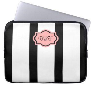 ELEGANTE IPAD SLEEVE_04 BLOOST PINK/WHITE/BLACK COMPUTER SLEEVE