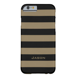 ELEGANTE IPHONE6 CASE_CAMEL/BLACK STREEP #7 BARELY THERE iPhone 6 HOESJE