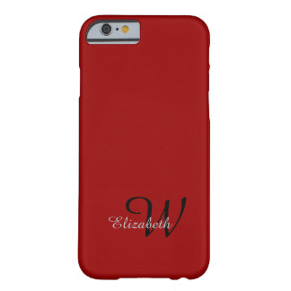 ELEGANTE IPHONE6 CASE_GRAY NAME/GRAY AANVANKELIJK BARELY THERE iPhone 6 HOESJE