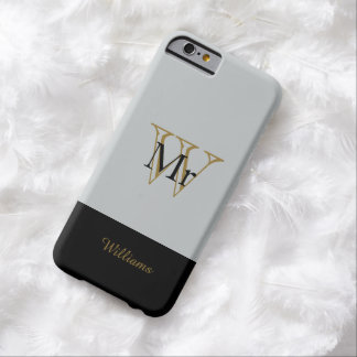 "ELEGANTE IPHONE6 CASE_ "" M."" SILVER/GOLD/BLACK BARELY THERE iPhone 6 HOESJE"