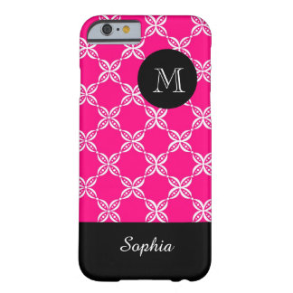 ELEGANTE IPHONE6 CASE_PINK/WHITE/FLORAL BARELY THERE iPhone 6 HOESJE