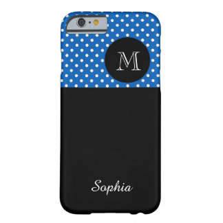 ELEGANTE IPHONE6 CASE_WHITE/154 BLUE/DOTS #100 BARELY THERE iPhone 6 HOESJE