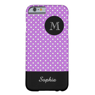 ELEGANTE IPHONE6 CASE_WHITE/203 PURPLE/DOTS BARELY THERE iPhone 6 HOESJE