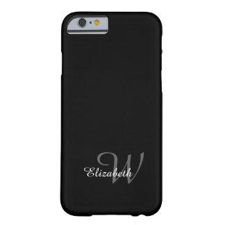ELEGANTE IPHONE6 CASE_WHITE NAME/GRAY AANVANKELIJK BARELY THERE iPhone 6 HOESJE