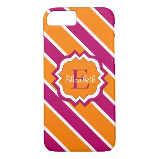 ELEGANTE iPhone7 CASE_RASBERRY/ORANGE/WHITE iPhone 7 Hoesje