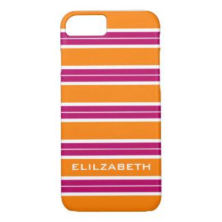 ELEGANTE iPhone7 CASE_TURRQUOISE/ORAN/WHITE iPhone 7 Hoesje