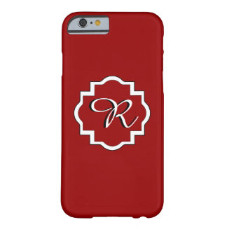 ELEGANTE IPHONE 6 CASE_16 RED/WHITE BARELY THERE iPhone 6 HOESJE