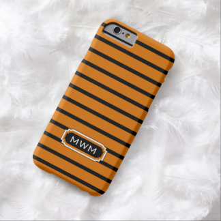 ELEGANTE IPHONE 6 CASE_32 ORANGE/BLACK/WHITE BARELY THERE iPhone 6 HOESJE