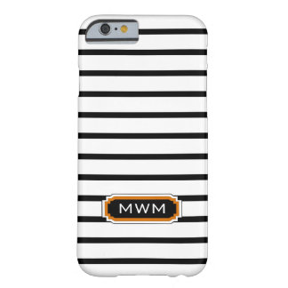 ELEGANTE IPHONE 6 CASE_BLACK/WHITE/ORANGE BARELY THERE iPhone 6 HOESJE
