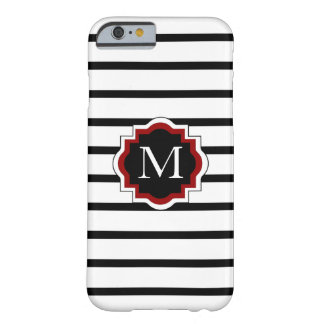 ELEGANTE IPHONE 6 CASE_BLACK/WHITE/RED BARELY THERE iPhone 6 HOESJE
