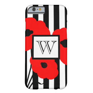 ELEGANTE IPHONE 6 CASE_MOD 01 RODE PAPAVERS BARELY THERE iPhone 6 HOESJE