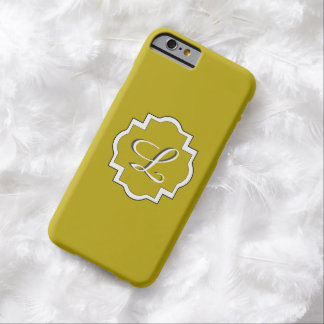ELEGANTE IPHONE 6 CASE_YELLOW/WHITE BARELY THERE iPhone 6 HOESJE