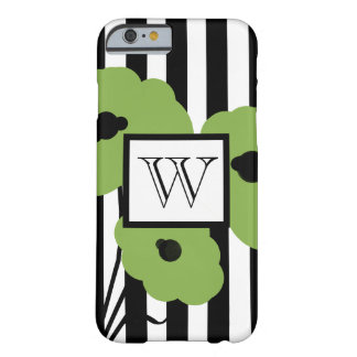 ELEGANTE IPHONE 6 GROENE PAPAVERS CASE_MOD BARELY THERE iPhone 6 HOESJE