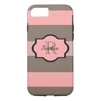 ELEGANTE iPhone 7 CASE_255 PINK/04 BLOOST, BRUIN iPhone 7 Hoesje