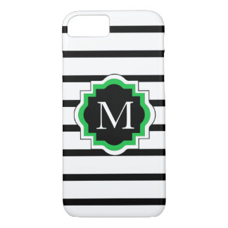 ELEGANTE iPhone 7 CASE_BLACK/WHITE/GREEN iPhone 7 Hoesje