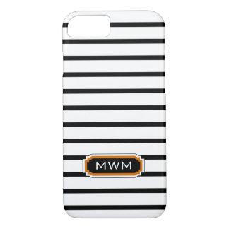 ELEGANTE iPhone 7 CASE_BLACK/WHITE/ORANGE iPhone 7 Hoesje
