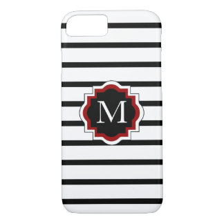 ELEGANTE iPhone 7 CASE_BLACK/WHITE/RED iPhone 7 Hoesje