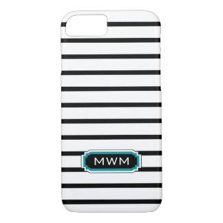 ELEGANTE iPhone 7 CASE_BLACK/WHITE/TURQUOISE iPhone 7 Hoesje