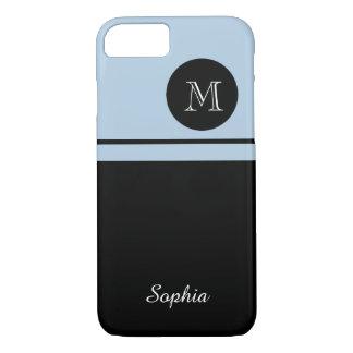 ELEGANTE iPhone 7 CASE_BLUE/BLACK #300 iPhone 7 Hoesje