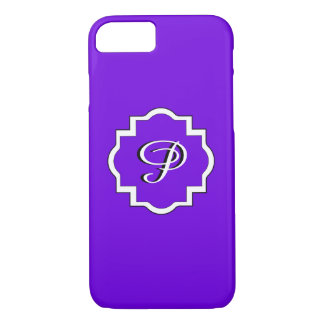 ELEGANTE iPhone 7 CASE_PURPLE/WHITE iPhone 7 Hoesje