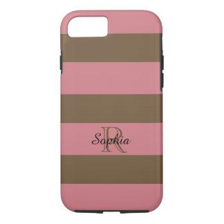 ELEGANTE iPhone 7 CASE_STRAWBERRY ICE/BROWN iPhone 7 Hoesje