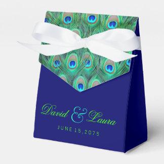 Elegante Koningsblauwen en het Groene Huwelijk van Bedankdoosjes