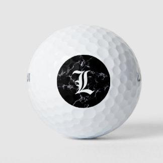 Elegante Marmeren Zwart-witte style4 - Golfballen