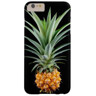 elegante minimalistische ananas   Zwarte Barely There iPhone 6 Plus Hoesje
