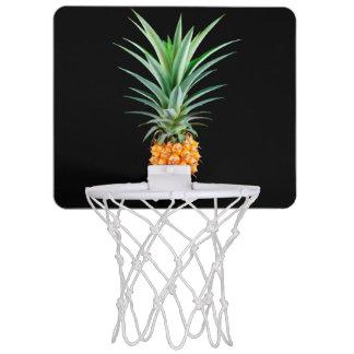 elegante minimalistische ananas   zwarte mini basketbalring