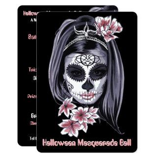 elegante moderne Halloween cincoDE Mayo Kaart